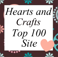 Hearts and Crafts Top 100 Craft Sites